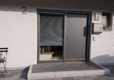 Haustür2 - Gebäudefolie