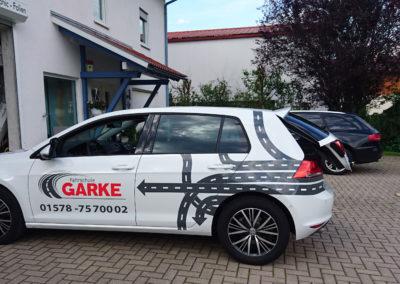Fahrschule Garke - Grafik&Beschriftung