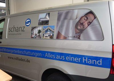 Schanz-Rolladensysteme - Digitaldruck