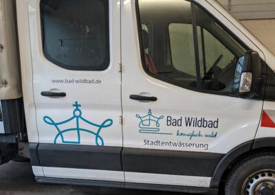Bad-Wildbad Stadtentwässerung - Grafik&Beschriftung