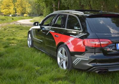 Audi S4 - Grafik&Beschriftung