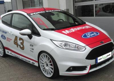 Teilfolierung - Ford Fiesta