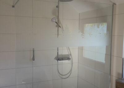 Dusche Sichtschutz Silhouette - Gebäudefolie