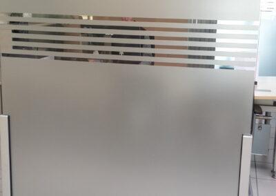 Sichtschutz Trenwand - Gebäudefolie