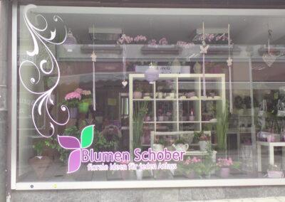 Blumen Schober - Grafik&Beschriftung