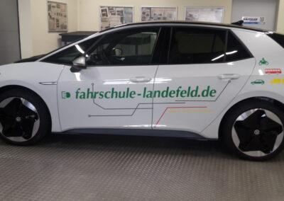 Fahrschule Landefeld ID.3 - Grafik&Beschriftung