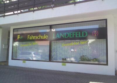 Fahrschule Landefeld - Grafik&Beschriftung