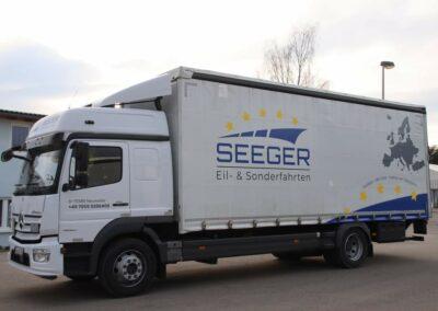 Seeger - Planenbeschriftung
