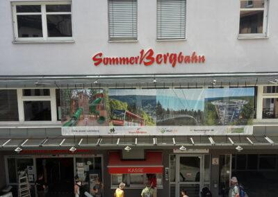 SommerBergbahn - Grafik&Beschriftung