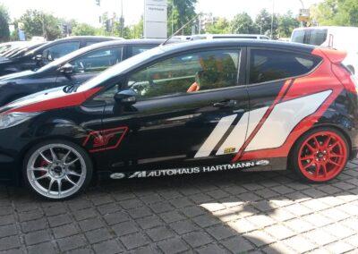 Ford ST Design - Teilfolierung