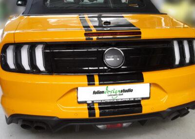 Mustang Heck - Lackschutz
