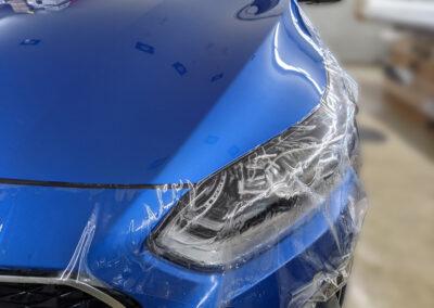 Kia Motorhaube - Lackschutz